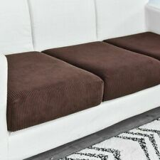 Replacement Corn Fleece Sofa Cushion Couch Slip Covers Fabric Stretchy Protector