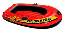 "63"" Intex Explorer Pro Inflatable Dinghy Rubber Boat Camping Summer Beach River"