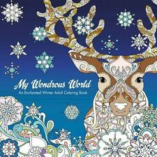 My Wondrous World: Enchanted Winter Adult Coloring Book Van Den Berg, Masja Pap