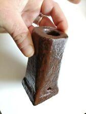 Raro mortaretto mascolo in ferro mortaietto dell'allegrezza del 1800