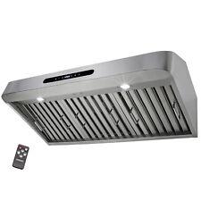 "30"" Under Cabinet Stainless Steel Range Hood Kitchen Stove Modern Touch Panel"
