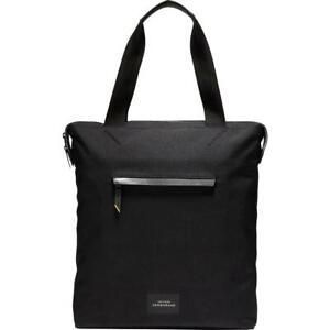 Cole Haan Zerogrand Black Canvas Leather Trim Laptop Bag Large BHFO 6762
