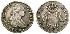 CARLOS IV.  1 REAL. 1808. MADRID A.I.