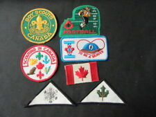 Canada Boy Scouts Lot of 7 Patches      c58