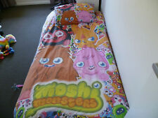 Moshi Monsters Single Doona Cover and Pillow case, reversible,childrens bedrooms