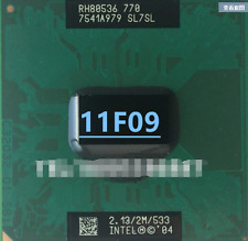 1PC Intel Pentium pm770 M PM 770 2.13G SL7SL SL7SP SL868 PGA CPU Test ok