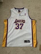 ADIDAS RON ARTEST  37 LOS ANGELES LAKERS NBA JERSEY Size 56 Men s 69af108c9