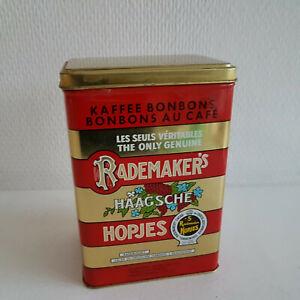 Blechdose Rademaker´s Hopjes Kaffee Bonbons