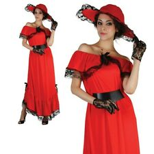 Adult Scarlet O Hara Costume Ladies Victorian Fancy Dress Outfit