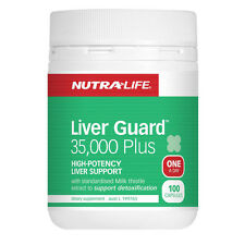 NutraLife Liver Guard 35,000 Plus 100 capsules ( High Potency Liver Support )