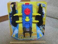 Fisher Price Imaginext Batman Batwing 2 in 1 Gauntlet Arm shooter NEW batSignal