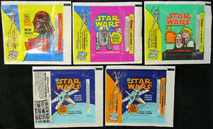 STAR WARS - 1977 TOPPS - WRAPPER - SERIES 2, 3, 4, 5 - YOU PICK