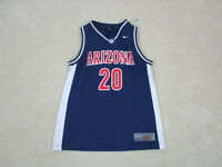 Nike Arizona Wildcats Basketball Jersey Youth Large Blue Red College Kids Boys