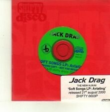 (DE142) Jack Drag, Soft Songs LP: Aviating - 2000 DJ CD