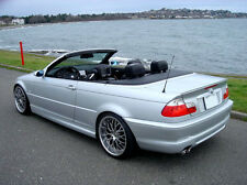 BMW E46 Convertible Trunk Lip Spoiler (Unpainted )