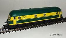 Märklin 37277 Série de LOCOMOTIVE A Diesel 59 SNCB MFX son métallique #