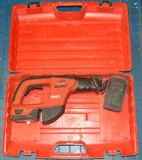 Hilti Wsr 36 A 36v Cordless Reciprocating Saw Kit