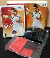 Nintendo Wii EA Sports Active Personal Trainer Open Box-NEW Game Leg Strap Band