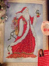 Joan Elliott Santa Claus Father Christmas Cross Stitch Chart