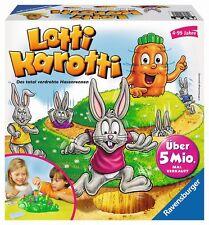 Ravensburger Lotti Karotti Hasenrennen Brettspiel Kinderspiel Kinder Lauf Spiel