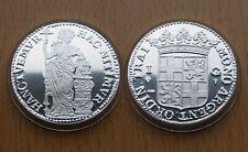 NETHERLANDS, Niederlande : 1 Gulden 1681 Utrecht *** Replica ** SILBER ** PP **