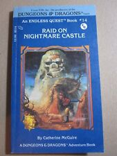 Dungeons & Dragons - RAID ON NIGHTMARE CASTLE - Endless Quest Book 14 TSR Books