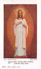 "Fleißbildchen Heiligenbild Andachtsbild Holy card ars sacra""H1998"" MESSOPFER"