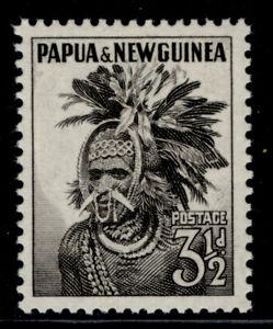 AUSTRALIA - Papua New Guinea QEII SG6a, 3½d black, M MINT.