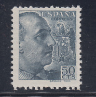 ESPAÑA (1939) NUEVO SIN FIJASELLOS MNH SPAIN - EDIFIL 872 (50 cts) FRANCO LOTE 3