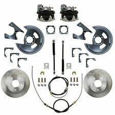 1970-81 Camaro, Firebird Rear Disc Brake Conv Kit (w/staggered shocks)