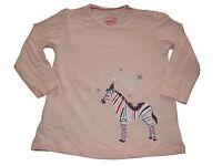 NEU tolles Langarm Shirt Gr. 110 / 116 rosa mit Zebra Motiv !!