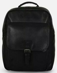 KENNETH COLE PEBBLED FAUX LEATHER LAPTOP BACKPACK WITH RFID PROTECTION $240