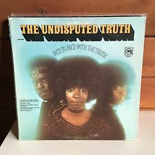 UNDISPUTED TRUTH Face To Face WLP 1971 Motown Gordy ORIG US PROMO PRESS VG++