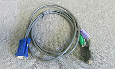 Cable KVM PS/2 teclado/video/mouse SPHD 15 A Vga Y PS/2