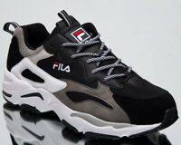 Fila Ray Tracer Mens Black Casual Shoes Lifestyle Sneakers 1010685-25Y
