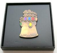 Large Marvel Comics Infinity Gauntlet Thanos Glove Lapel Pin New MOC 2019