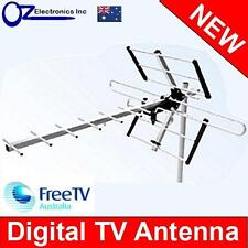 Digital TV Outdoor Antenna UHF VHF FM 4 AUSTRALIAN conditions city Areas NEW