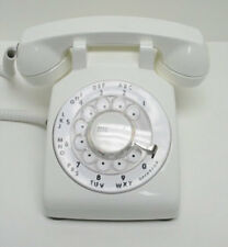 White Western Electric 500 Desk Telephone - Full Restoration