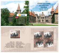 LATVIA / LETTLAND 2017 EUROPA, Castles / EIROPA CEPT STAMP BOOKLET MNH