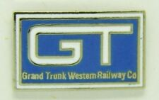 Railroad Hat-Lapel Pin/Tac -Grand Trunk Western  (GTW)-   #1147 -NEW