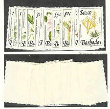 Barbados, Postage Stamp, #753-468 Mint LH, 1989 Flowers