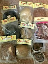 Lot of 10 Size 13 Doll Wigs Imsco & Boots Tyner New Old Stock-All Different