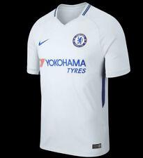 NIKE Chelsea FC Stadium Jersey Away 17-18  Soccer Mens T-Shirts Top Football (S)