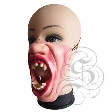 Medio Rostro Comedia Terror Halloween Vampiro atacar a ciudadanos Látex Partido Fancy Máscara