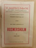 ROSMERSHOLM - NORA NICHOLSON SIGNE HASSO EDWARD CHAPMAN ROBERT HARRIS JOHN KIDD