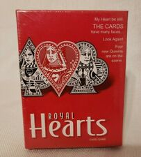 Royal Hearts Leading Ladies? Card Game Parker Brothers Hasbro Sealed Deck