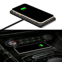Qi Car Wireless Charger Pad Phone Fast Charging Mat Non-Slip for iPhone Samsung