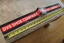 DVS Shoe Company Footwear Z6 Vintage Huge 24in. Skateboarding STICKER (Damaged)
