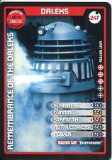 Doctor Who Monster Invasion Extreme Card #247 Daleks
