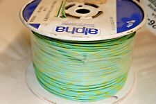 1,000ft.  18AWG Green/Yellow Wire (101-545)
